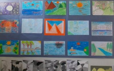 Έκθεση έργων των μαθητών στα Καλλιτεχνικά 2016